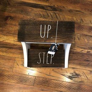 Rae Dunn STEP UP stool